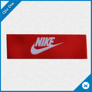 Wholesale Price Woven Label for Clothing Brand Name pictures & photos
