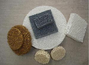 Ceramic Foam Filter for Metal Filtration (Material: Silicon Carbide, Alumina, Zirconia, Magnesia) pictures & photos