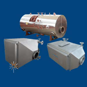 Horizontal Fin-Tube Exhaust Gas Boiler for 12000/2000kw Generator (KNFT700/1000)