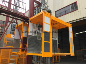 China Supply Sc Series Frequency Convertible Building Hoist pictures & photos