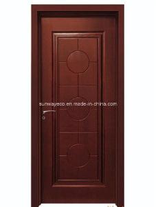 Sound Proof WPC Modern Bedroom Door Design