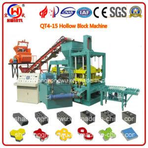 Qt4-15 Concrete Brick Production Machine