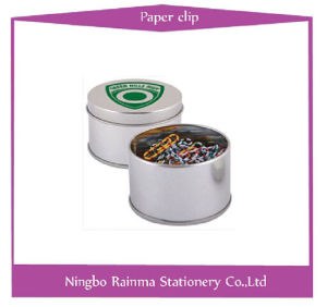 Metal Paper Clip in Tin Box Packing pictures & photos