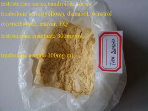 Trenbolone Acetate Raw Steroid Powders Tren Acetate Effective Yellow Powder for Burning Fat pictures & photos