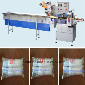 PLC Control Automatic Disposable Paper Cup Flow Wrapping Machine pictures & photos