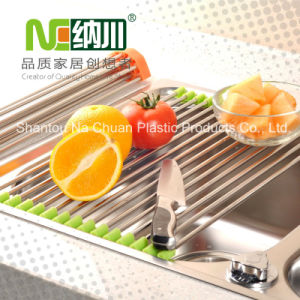 #304 Stainless Steel Kitchen Folding Drain Rack