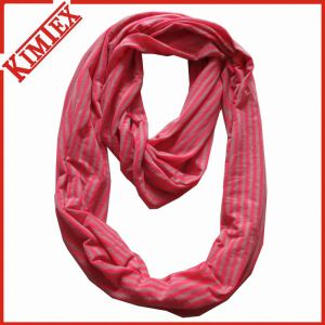 100% Polyester Chiffion Printing Infinity Scarf pictures & photos