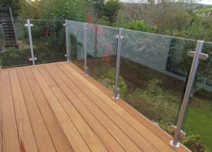 Stainless Steel Baluster Tempered Glass Balustrades pictures & photos