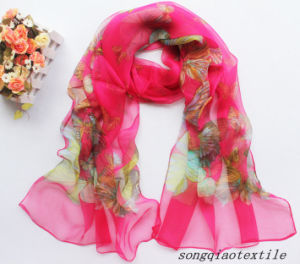 Printing Silk Scarf pictures & photos