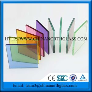 Laminated Glass Specifications for 4mm Clear+0.38PVB+4mm Clear Tempered Glass pictures & photos