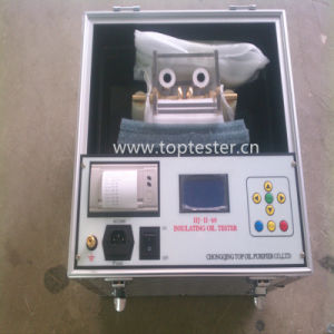 High Accuracy Fully Automatic Insulating Oil Dielectric Strength Tester (Iij-II) pictures & photos