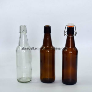 Popular 330ml Amber Swing Top Glass Beer Bottles pictures & photos