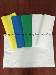 Blank Plastic Woven Bag for Garbage pictures & photos