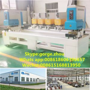PVC UPVC Door and Windows Making Machine with Double Head Welding