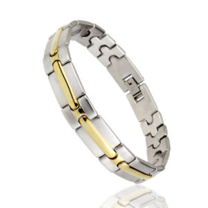 Health Care Bio Infrared Magnetic and Anion Energy Jewelry Bracelet pictures & photos