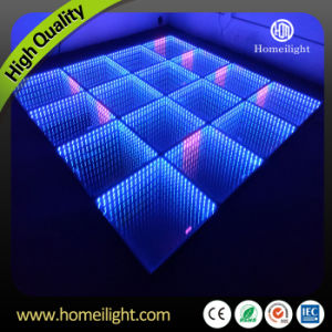 Toughened Glass 3D Abyss Mirror LED Dance Floor for Wedding Party Stage pictures & photos