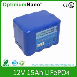 Lithium Ion Solar Light Battery 12V 15ha with CE, UL pictures & photos