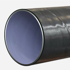 API 3PE Coating Carbon Spiral Welded Line Steel Pipe for Water Oil pictures & photos