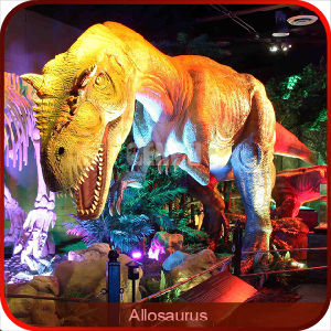 Simulation Allosaurus Dinosaur with Movements pictures & photos