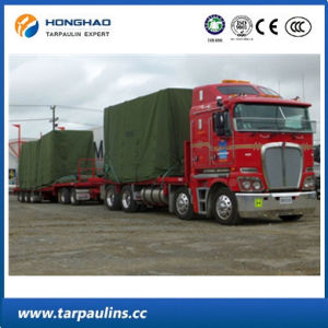 Low Price Durable Organic Silicon Canvas Truck Cover Tarpaulin pictures & photos