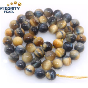 Natural Gemstone Strands 6 8 10 12 14mm Wholesale Tiger Eye Stone Price pictures & photos