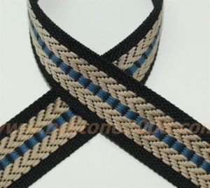 High Quality Jacquard Webbing Belt#1501-19A pictures & photos