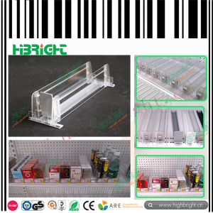 Supermarket Plastic Shelf Divider and Shelf Pusher pictures & photos