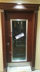 Armored Security Steel Door Bullet Proof Glass Door pictures & photos