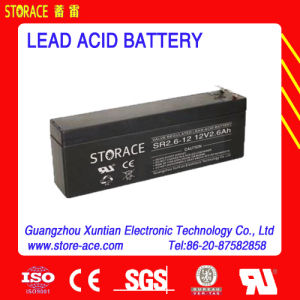 12V 2.6ah AGM Batteries/UPS Battery (SR2.6-12) pictures & photos