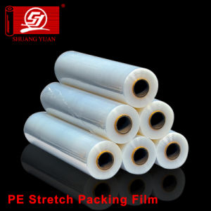 Good Self-Adhesive Factory Directly PE Wrapping LLDPE Pallet Packaging Film pictures & photos