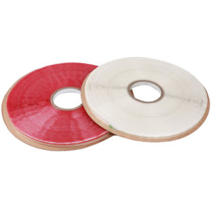 Removable OPP Bag Sealing Tape with Red Line pictures & photos