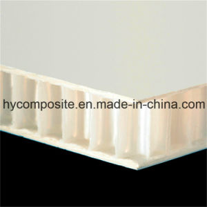 Smooth Fiberglass Prelaminated PP Honeycomb Panel for Wall pictures & photos