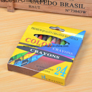 24 PCS Drawing Wholesale Wax Crayon pictures & photos