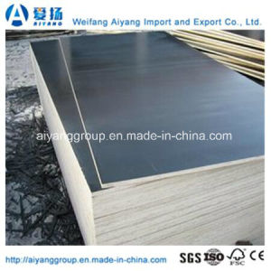 Marine Plywood with Black Film (size 610mm*2440mm) pictures & photos