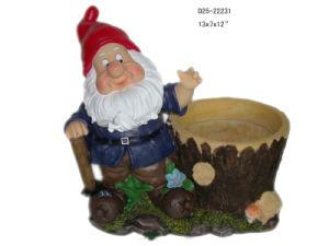 Resin Garden Gnome (D25-22231)