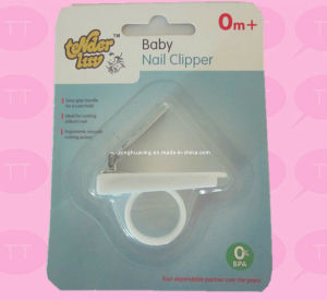 Baby Care Nail Clippers with Blister Pack with Catcher pictures & photos