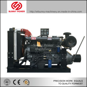 30kw/40HP 1500rpm-2000rpm Diesel Engine with Clutch and Belt Pulley pictures & photos