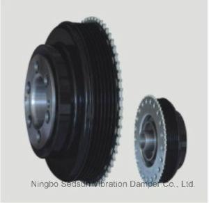 Torsional Vibration Damper / Crankshaft Pulley for Ford 1682158 pictures & photos