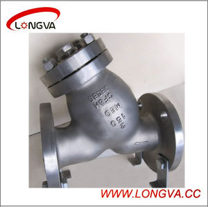 Sanitary Stainless Steel Y-Type Flange Strainer pictures & photos