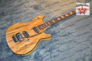 Wolf Guitar with Floyd Tremolo Splated Maple Top