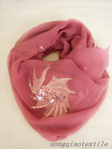 Super Quality Silk Scarf pictures & photos