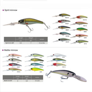 Free Shipping Custom Made Bass Bait Hard Minnow Fishing Lure pictures & photos