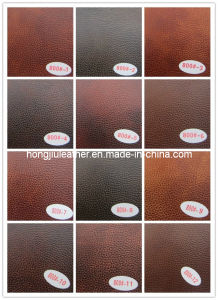 New Style of Artificial PU Sofa Leather (800#) pictures & photos