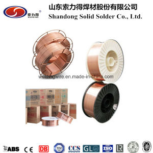 Copper Coated Alloy Mild Steel Aws A5.18 Er70s-6 CO2 Arc Mag MIG Welding Wire pictures & photos