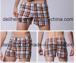 100% Polyester Yarn Dyed Men′s Beach Short Fabric