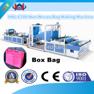 Full Automatic Non- Woven Fabric Box Bag Making Machine pictures & photos
