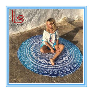 Fashion Round Ployester Beach Towels pictures & photos