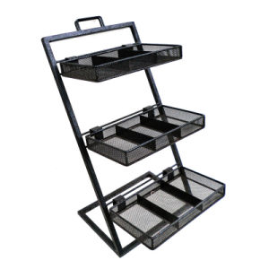 Countertop Wire Rack/ Five Tiers Metal Exhibition Stand (AD-0801-U) pictures & photos