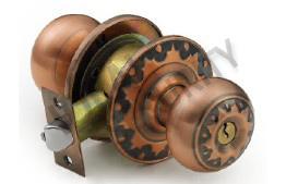 Cylindrical Tubular Knob Door Lock (WS5872AC-ET) pictures & photos