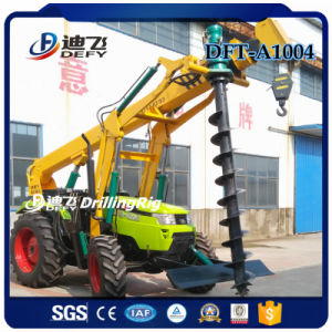6m Tractor Auger Drilling Machine for Power Pole pictures & photos